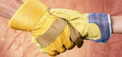 India's leather industry looks for a way out by making work gloves