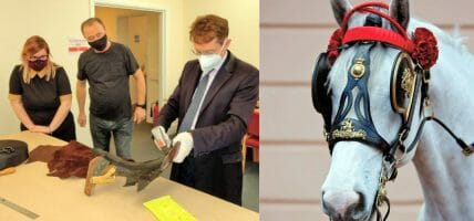 UK, Walsall Leather Skills Center trains new leather workers