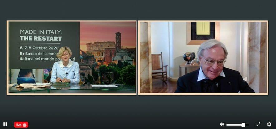 Heritage, creatività e la religione del web: così parlò Della Valle