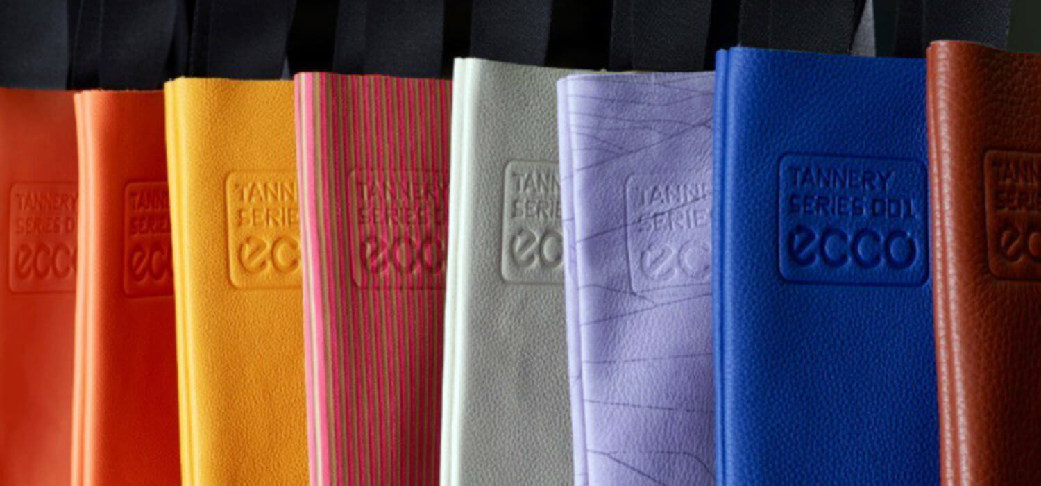 The Danes from Ecco, not throwing away anything: bags made with leather scraps