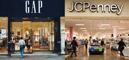 Gap crolla e sforbicia, JC Penney spera: la lotta del retail USA