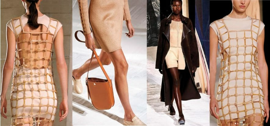 Paris, Hermès and the others: quality without frills, leather and purity