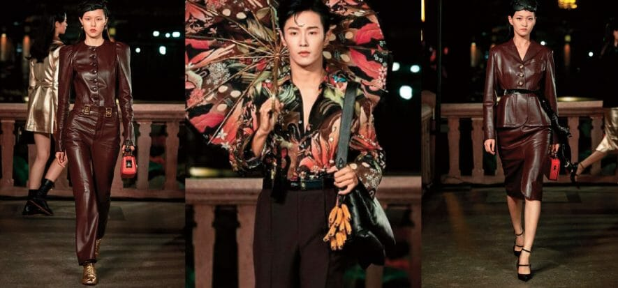 Lanvin: from China with love and lots and a lot of leather