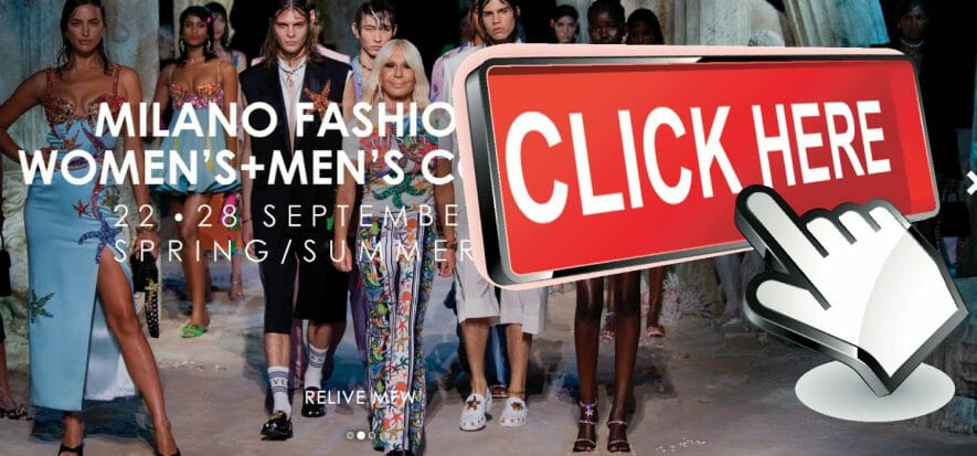 The web proves Milan right: fashion shows generated 43 million plays