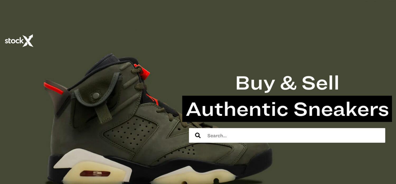 Sneaker, anche usate volano: il caso del portale StockX