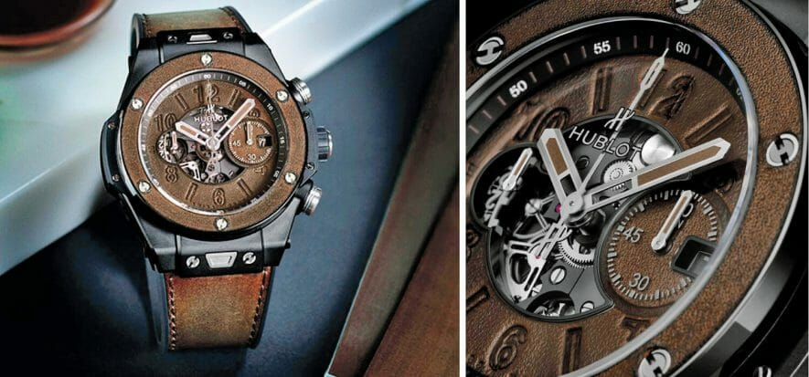 Hublot and Berluti join forces to create a watch that glorifies leather