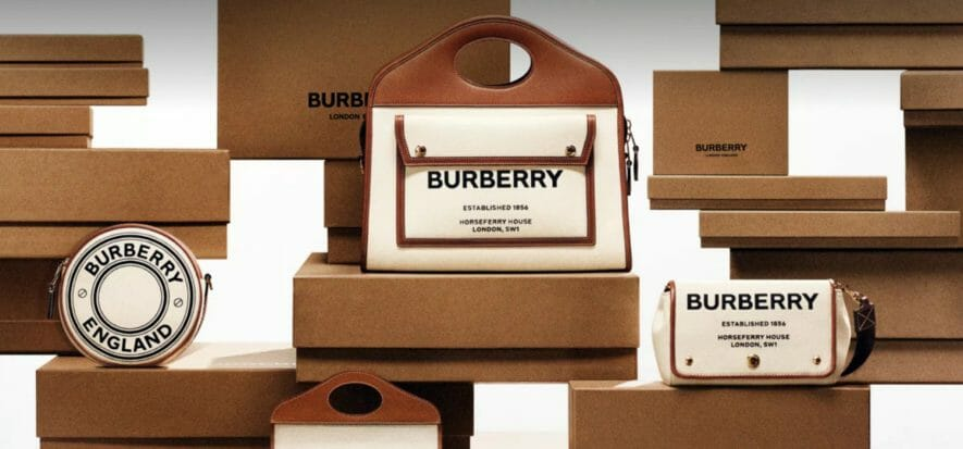 Burberry goes better in the quarter thanks to leather goods