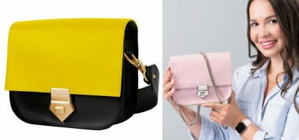 Duclos, the UK bag conquering the web with Italian leather