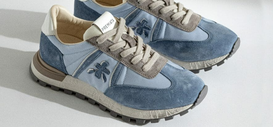 Premiata launches the first circular sneaker: the leather is by Sciarada