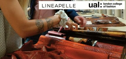 Lineapelle goes to London: a project with College of Fashion   UAL