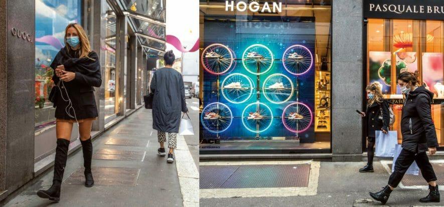 Milano esce dalla zona rossa, ma il retail ha poco da festeggiare