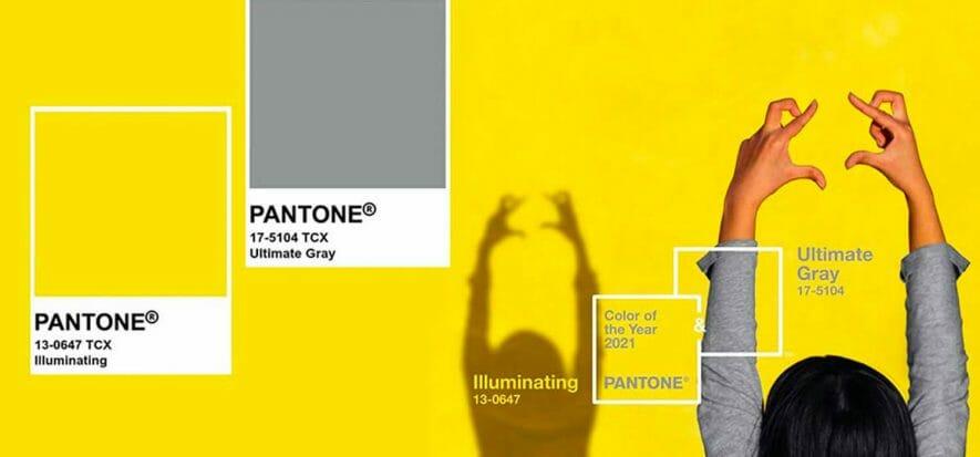 Pantone, il colore del 2021 sono 2: Ultimate Gray e Illuminating
