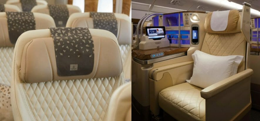 La pelle Boxmark conquista Emirates e vola sugli Airbus A380