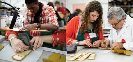 Da Burberry a San Patrignano: i progetti di Alta Scuola di Pelletteria