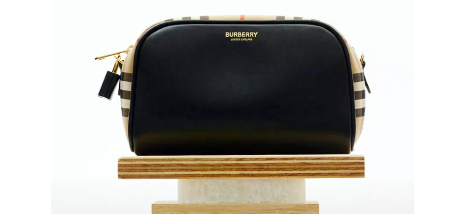 Burberry considers itself satisfied: -4% from October to December