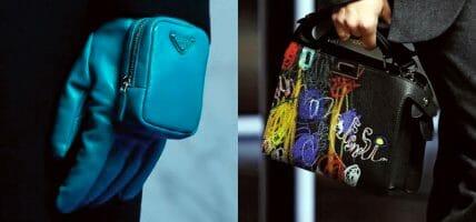 Fendi, Etro, Prada: a Milano sfilano i nuovi accessori per l'Uomo