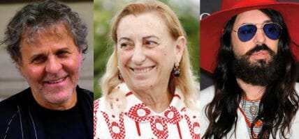 Gli ispiratori globali della moda sono tre 3 e sono italiani