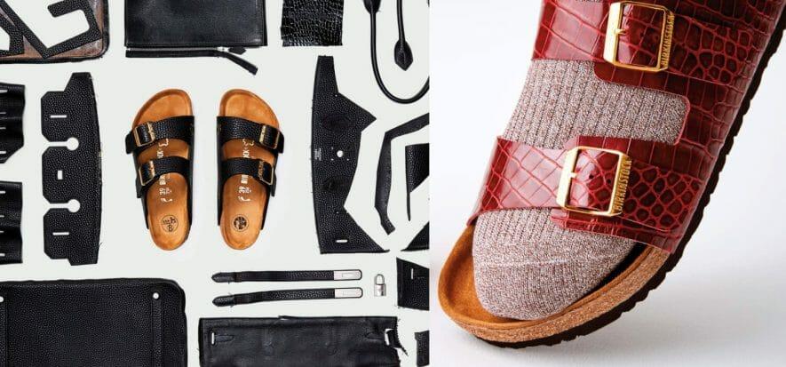 Birkin leather + Birkenstock sole, a collective forges Birkinstock
