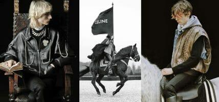 Gotico, '90s, punk: il nuovo romanticismo di Celine veste in pelle