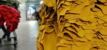 2020, the first 9 months for Italian leather: export down 29%