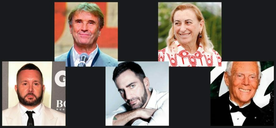 Miuccia, Giorgio, Brunello, Kim, Marc: le voci della MFW