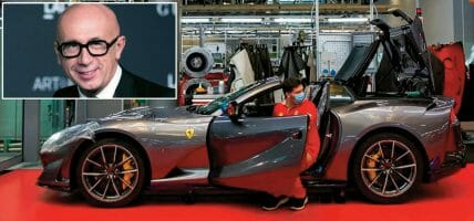 Ferrari paga un bonus ai dipendenti e incassa il no di Bizzarri