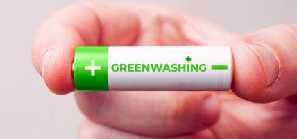 42% of sustainability claims are actually greenwashing