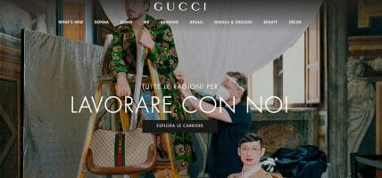 Gucci seleziona giovani da formare: ne assumerà 8 nel retail