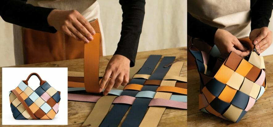 Loewe's Surplus Project makes even excess leather into luxury
