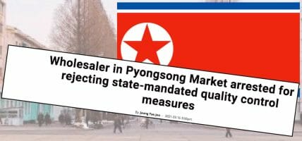 I traffici di Pyongsong, capitale del falso della Corea del Nord