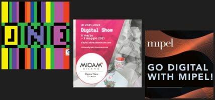 Per Micam, Mipel e TheOne l'appuntamento di marzo è online