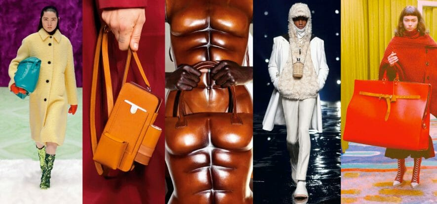 The top five bags that shone at the latest fashion shows