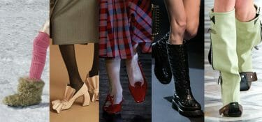 Winter 21/22: the top five shoes seen at the latest fashion shows