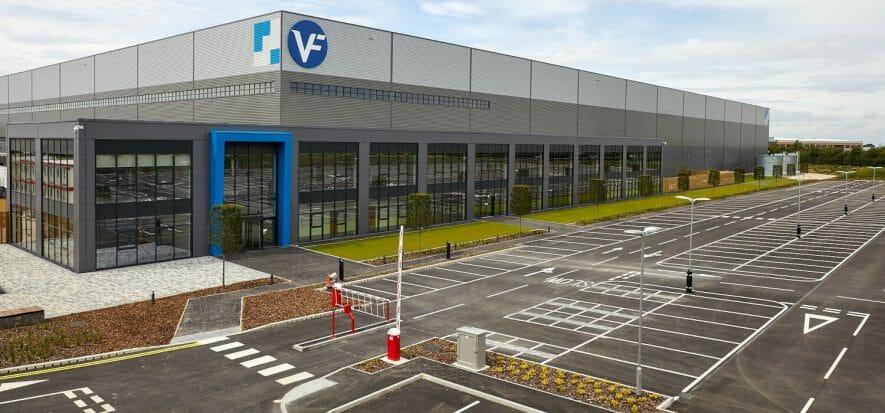 VF Corp all'assalto del mercato UK con un nuovo centro logistico