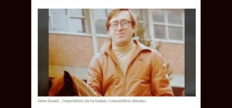 La filiera saluta Valmo Duranti (77 anni), fondatore di Kimoco