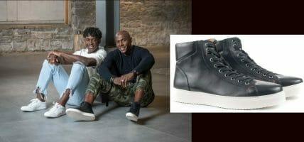 La beneficenza dell'ex campione: scarpe in pelle dal cuore d'oro