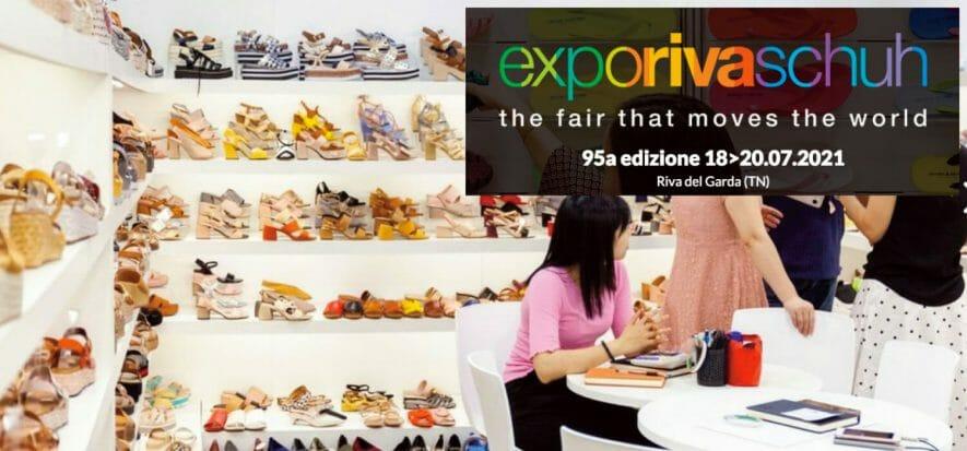 Expo Riva Schuh torna in presenza dal 18 al 20 luglio