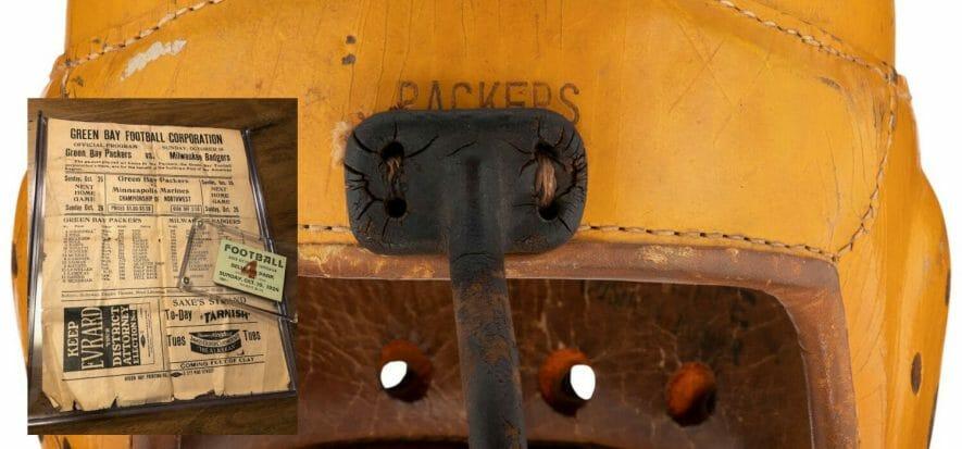 Il casco da football comprato a 499 dollari e rivenduto a 33.600