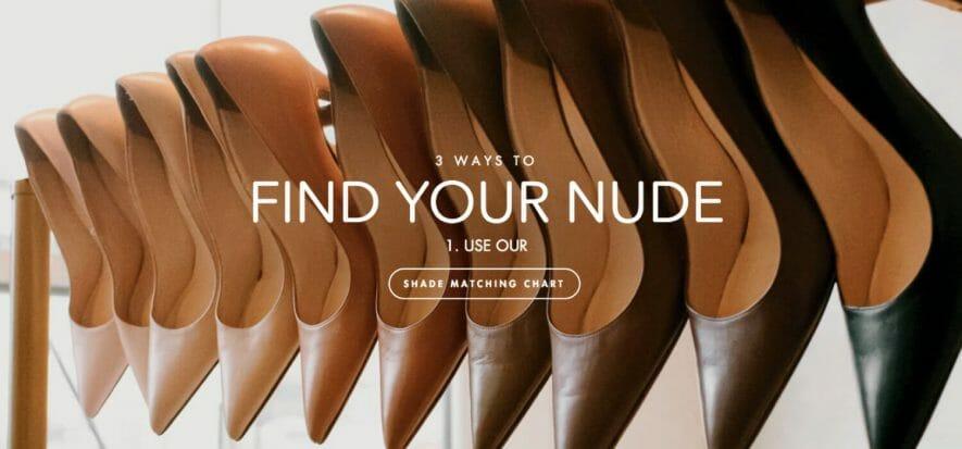 L'effetto nude di Kahmune dalle scarpe arriva alle borse