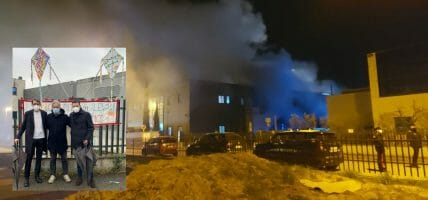 Paura ad Arezzo: in fiamme anche Lem, si ipotizza incendio doloso