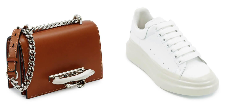 Più pelletteria, più scarpe per anno record di Alexander McQueen