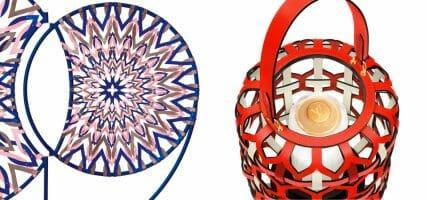 Objets Nomades: Vuitton + Zanellato/Bortotto + pelle per Lanterne