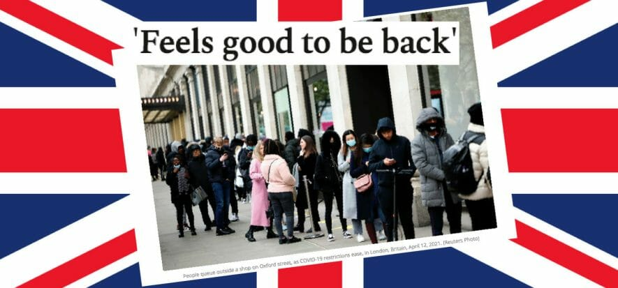 Shopping, how much I missed you: London is back in the stores
