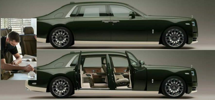 L'auto dei sogni esiste: ecco la Rolls-Royce con pelli Hermès