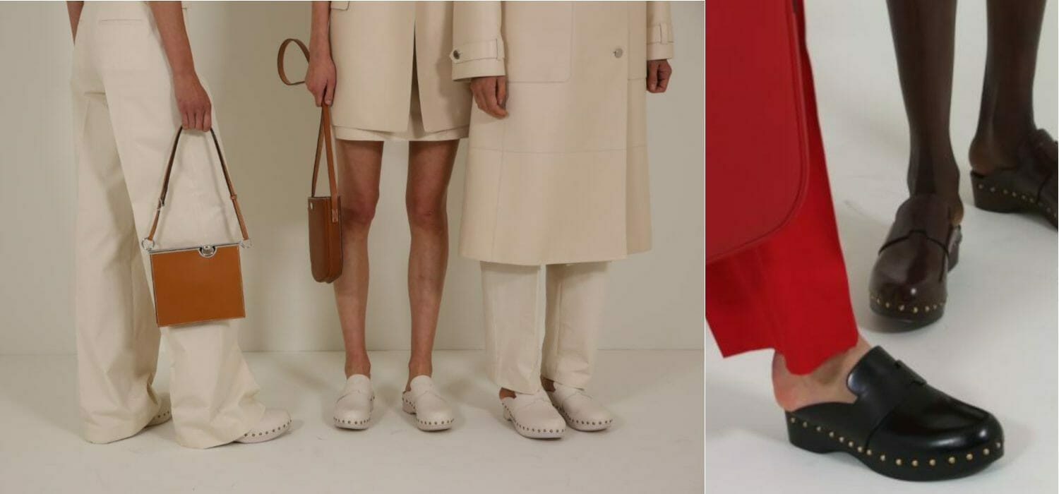 You have to get on the list for the 990 dollars Hermès clogs