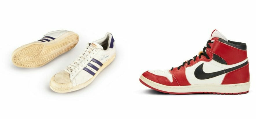 Quelle sneaker battute da Sotheby's (e la mania dei collezionisti)
