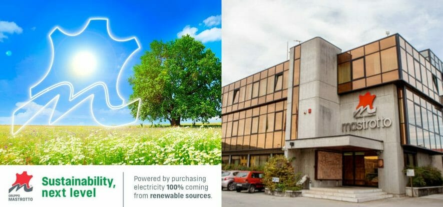 Electricity only from renewable sources for Gruppo Mastrotto