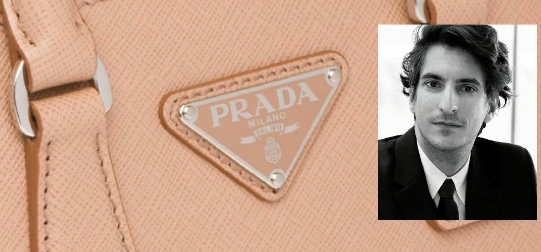 The emerging Bertelli (Lorenzo) explains the blockchain for Prada