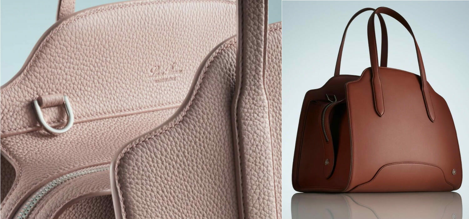 The Sesia it bag is a success: Loro Piana relaunches with new bags