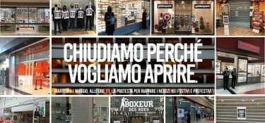 E i centri commerciali italiani, esasperati, chiudono per protestare